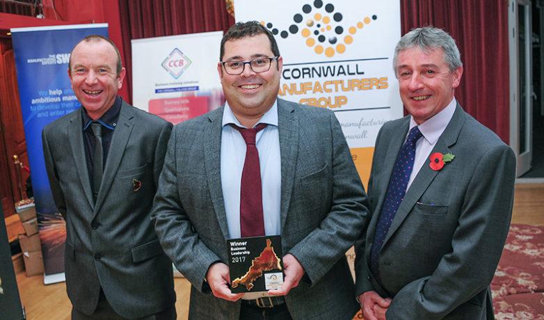 Richard James – Winner of the Business Leadership Award
