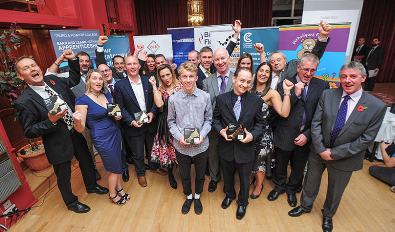 Winners of the Cornwall Manufacturers Awards 2017
