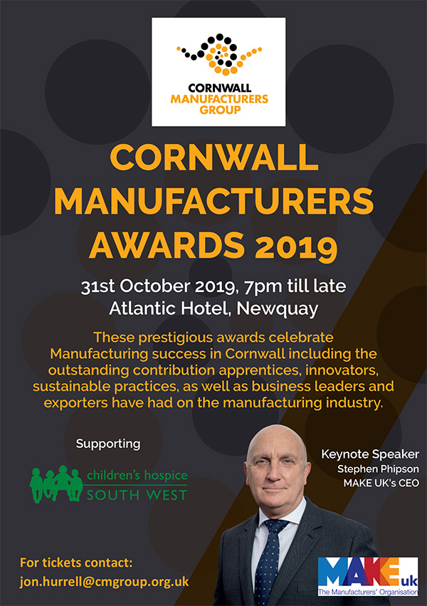 Cornwall Manufacturers Awards
